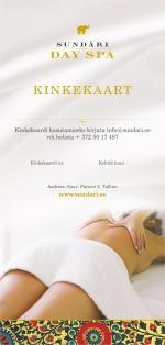Kinkekaart naistele 100 euro väärtuses